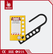 Eight-Hole Aluminum Lockout Hasp BD-K51