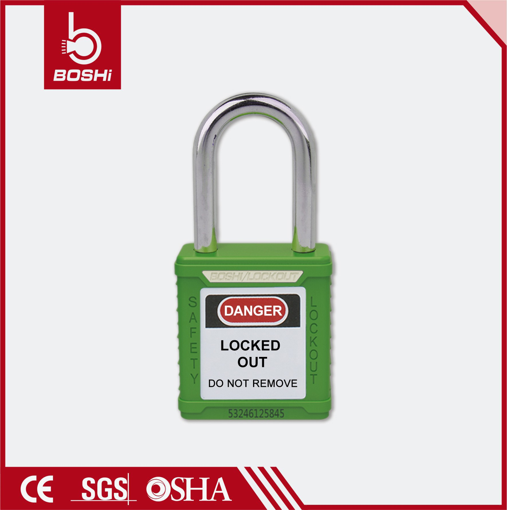 Safety Padlock BD-G01~G08