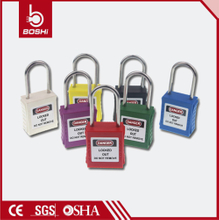Thin Shackle Safety Padlock BD-G71~G78