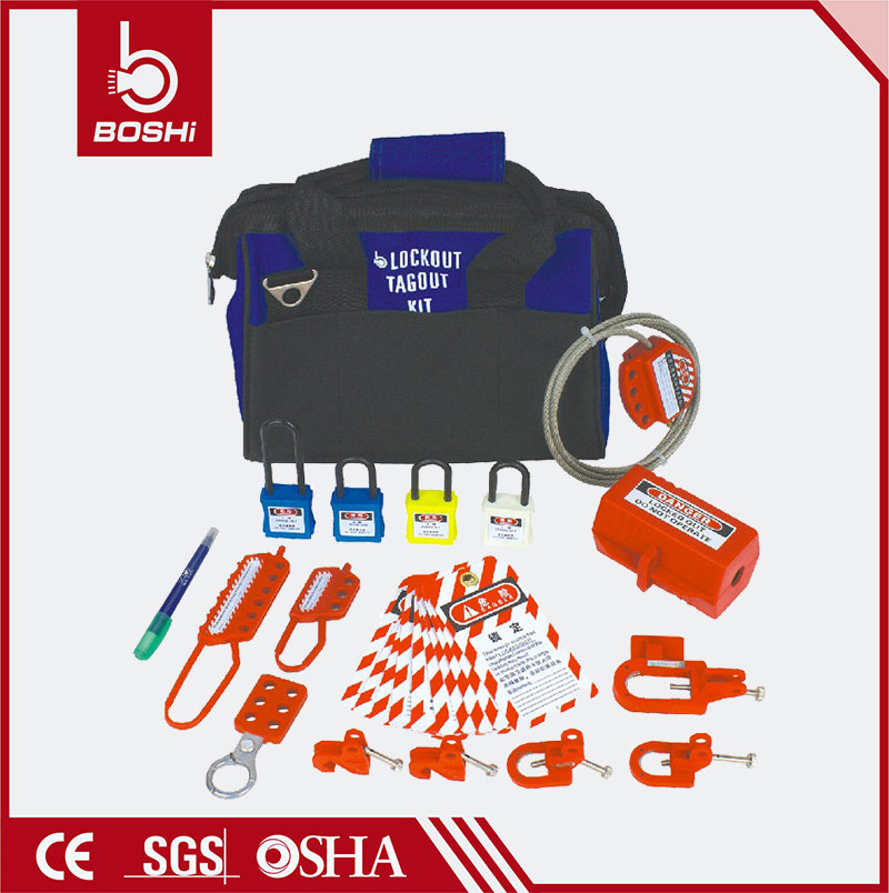 Safety Lockout Combination Bag BD-Z13