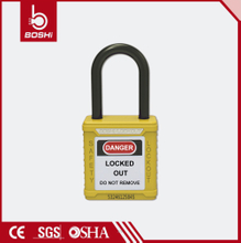 45mm Body Length Nylon Shackle Master Padlock BD-G12