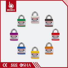 ABS Lock Shape Safety Padlock BD-J01